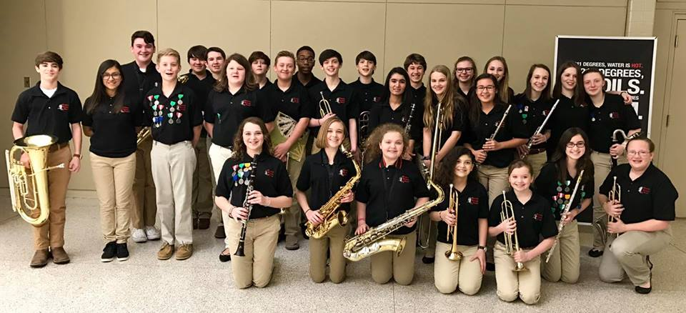 Muscle Shoals Middle School Band Home